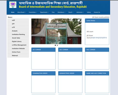 Board of Intermediate and Secondary Education  RajshahiBoard of Intermediate and Secondary Education  Rajshahi